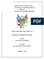 Ciudadania y Defensa Nacional