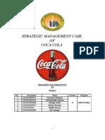 Strategic Management Case- Coca-Cola