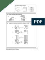 Fracciones para cuarto basico