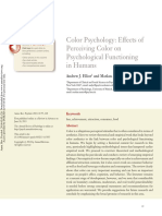 (2014) - Color Psychology Effects of Perceiving Color on Psychological Functioning in Humans