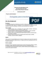 Ficha Proyecto Ecología