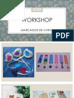 Workshop Marcador de Livros