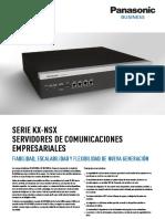 KX-NSX Series Spec Sheet (1)