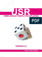 USR 20 (Unbelievably Simple Roleplaying)