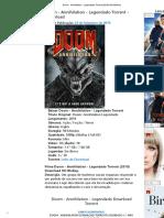 Doom - Annihilation - Legendado Torrent (2019) HD BluRay