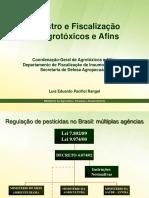 Registro e Fiscalizacao de Agrotoxicos