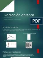 Radiación antenas