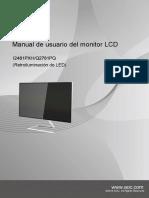 Monitor LCD AOC I2481 PXH/Q2781PQ spanish