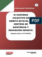 3 - Xi Convenio Colectivo de Centros de Educacin Infantil