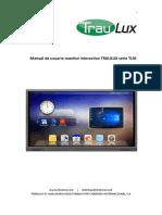 Manual de Usuario Traulux Tlm 1682 5