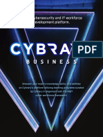 Cybrary Business Flyer