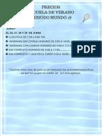 Lista de Precios Mm18