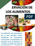 Almacenamiento y Conservacion Alimento