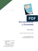 Klauer - Decentralizacion y Economia
