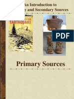 Primary and Secondary Sources 1