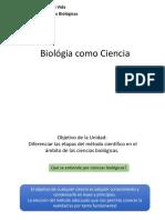 Clase 1 BIO030 - Metodo Cientifico 201910