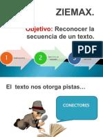 ZIEMAX secuencia aplicada a texto.pptx