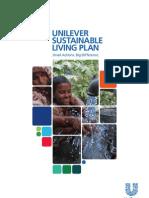 Unilever Sustainability Plan