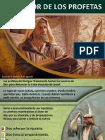 Los profetas y el clamor con el pueblo