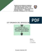 analisis le organica policial