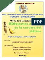 Bioplastico Fencyt-2019- Apostol Santiago