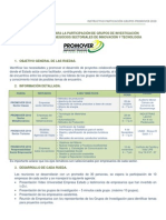 INSTRUCTIVO GRUPOS PROMOVER 2010