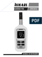 Termo-Higrometro HTH913