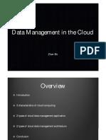 Cloud Data Management 02