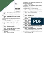 LTO Sample questions