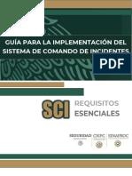 GUÍA PARA LA IMPLEMENTACIÓN DEL COMANDO DE INCIDENTES