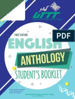FIRTS EDITION ENGLISH ANTOLOGY