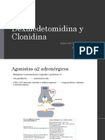 Dexmedetomidina y Clonidina Basico