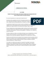 09-09-19 Celebra Clausen Iberri apoyo del gobierno federal para el equipamiento del nuevo hospital general de especialidades