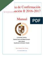 Programa de Confirmacion Confirmacion II 2016