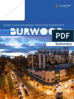 Burwood Council LSPS Summary Online