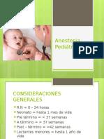 ANESTESIO pediatría