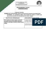 Rubrica Evaluacion Oa7 4tos Basicos