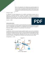 Destilación Otro