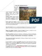 Caida Del Imperio Romano Filosofia . Docx