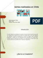 Trasplantes Realizados en Chile