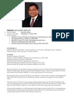 Profil Ignasius Jonan