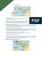 Preguntas de Los Viajes de Pablo Con Respuestas4to