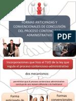 Formas Anticipadas y Convencionales de Conclusión Del Proceso