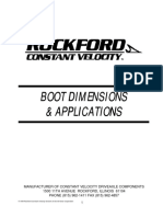 Rockford boot dimension