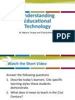 Understanding Educational Technology