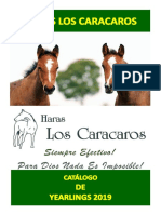Catalogo Haras Los Caracaros 2019