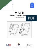 Math 6 Dlp 43 Finding a Missin