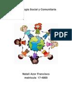 Psicología Social y Comunitaria Trabajo Final