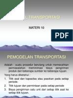 5 Model Transportasi