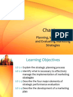 Chapter 2 - Planning Implementing Evaluating Marketing Strategies